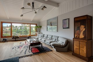 The interiors were recently remodeled by Ben Shulman.