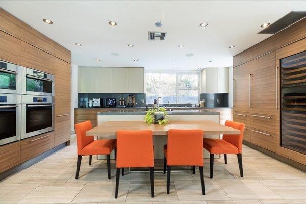 Best 60 Modern Kitchen Porcelain Tile Floors Design Photos And
