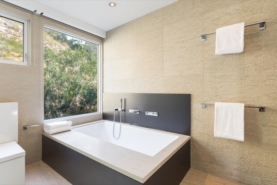 Honnold & Rex Architectural Research House bathroom
