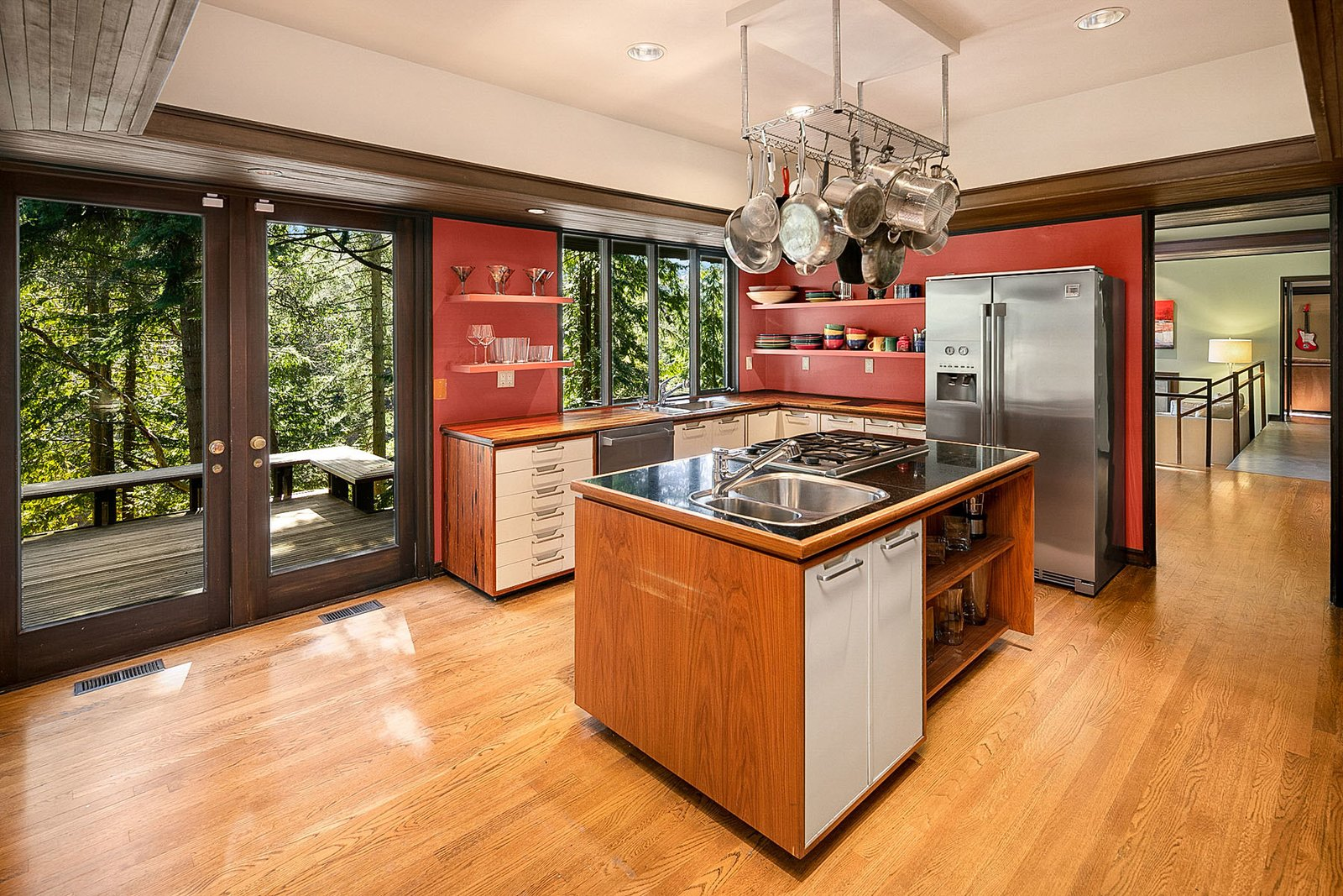 Ralph D. Anderson Midcentury Home kitchen