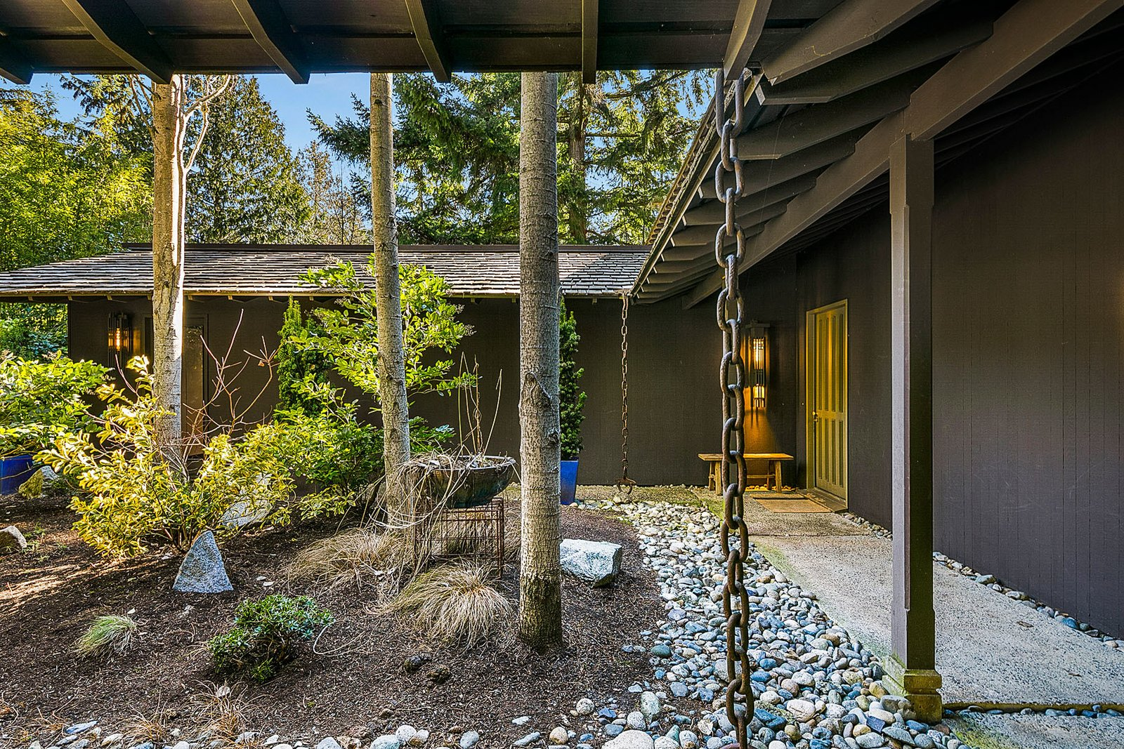 Ralph D. Anderson Midcentury Home backyard