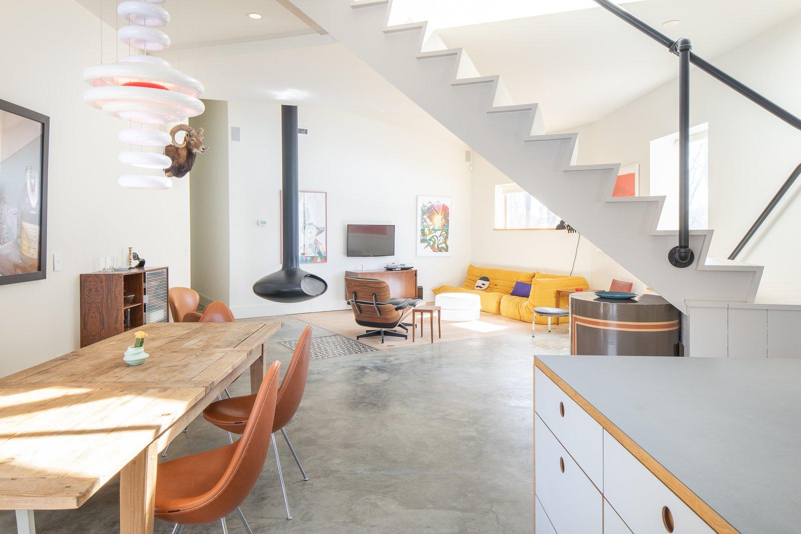Grzywinski + Pons Farmhouse interior