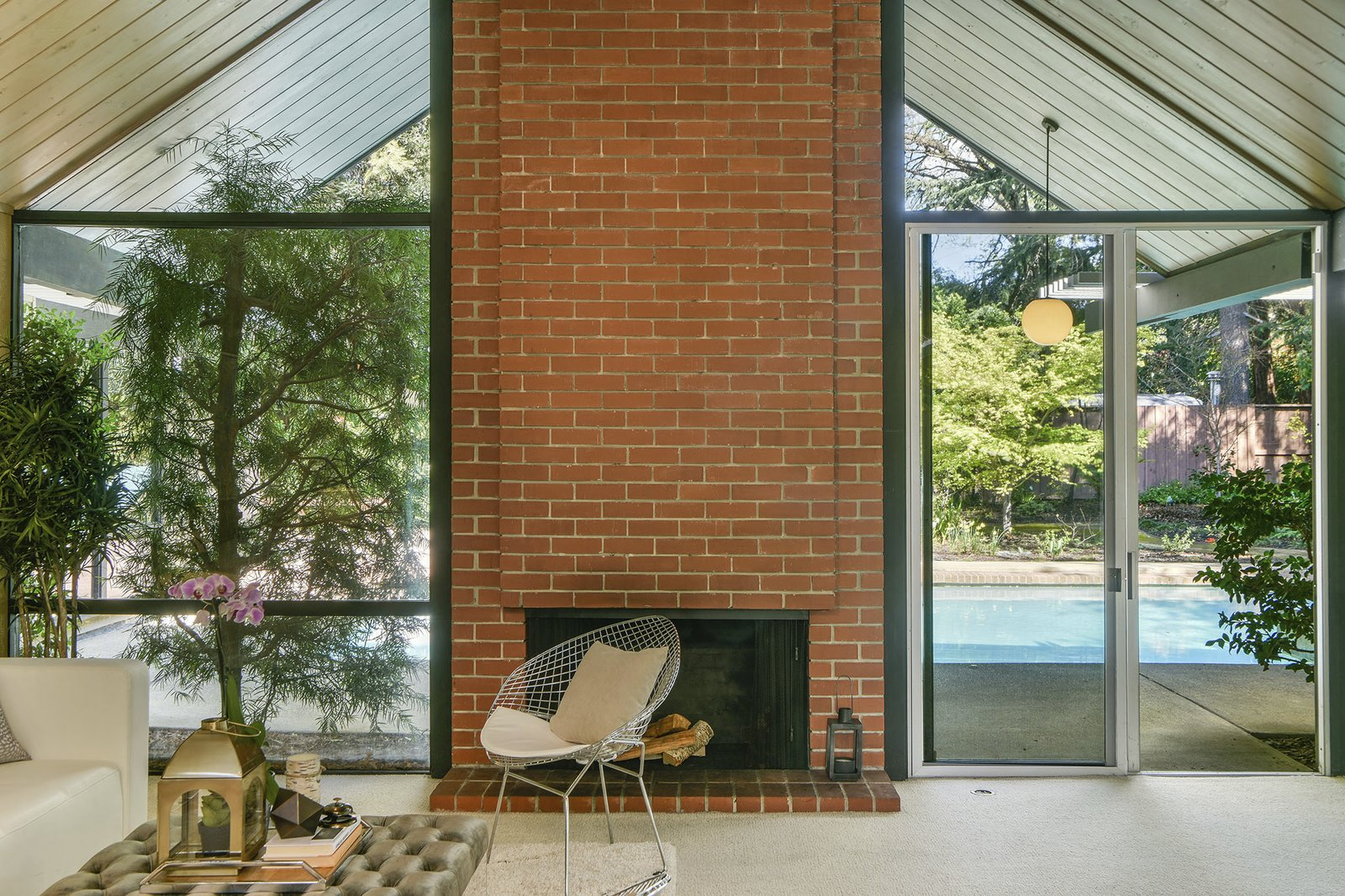 Gallery Eichler fireplace