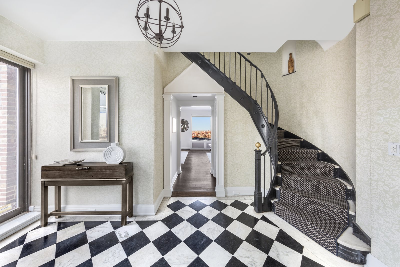 Irving Berlin Penthouse entryway