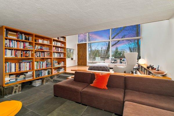Best 43 Modern Living Room Slate Floors Design Photos And Ideas - Dwell