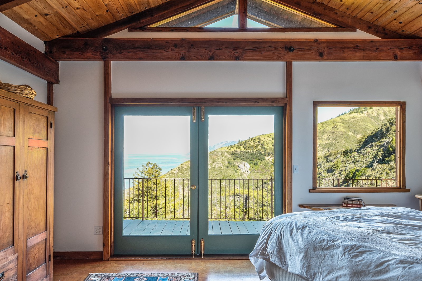 Big Sur Gold Mine House bedroom