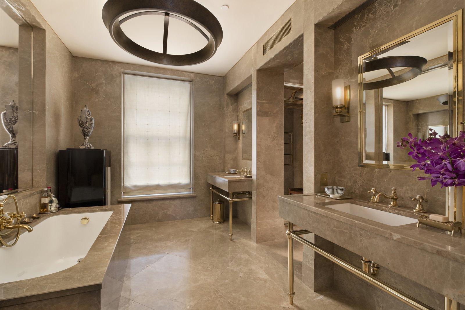 Marc Jacobs Superior Ink condominium master bathroom