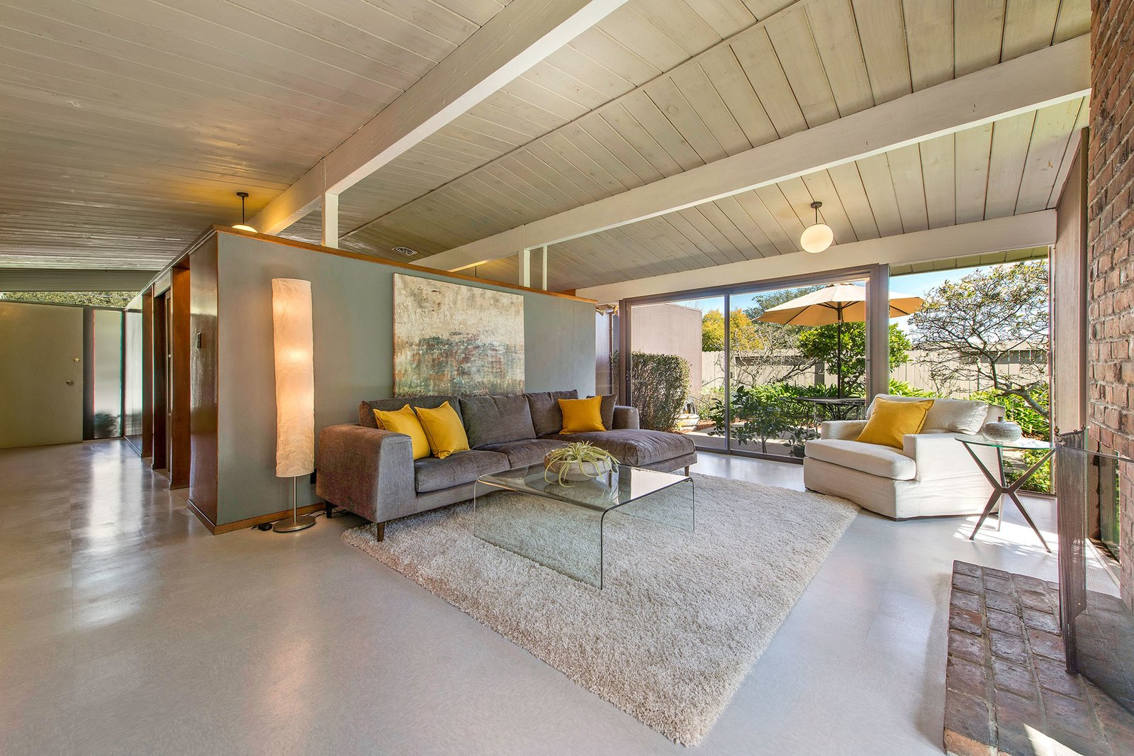 San Rafael Eichler Home living room