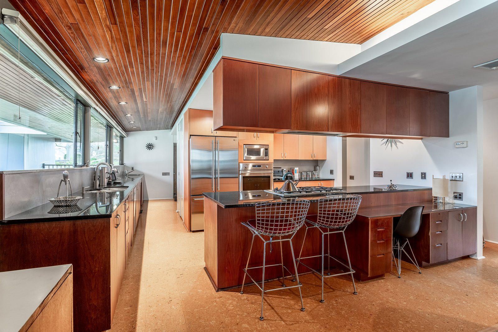 Miller Philadelphia Neutra House kitchen
