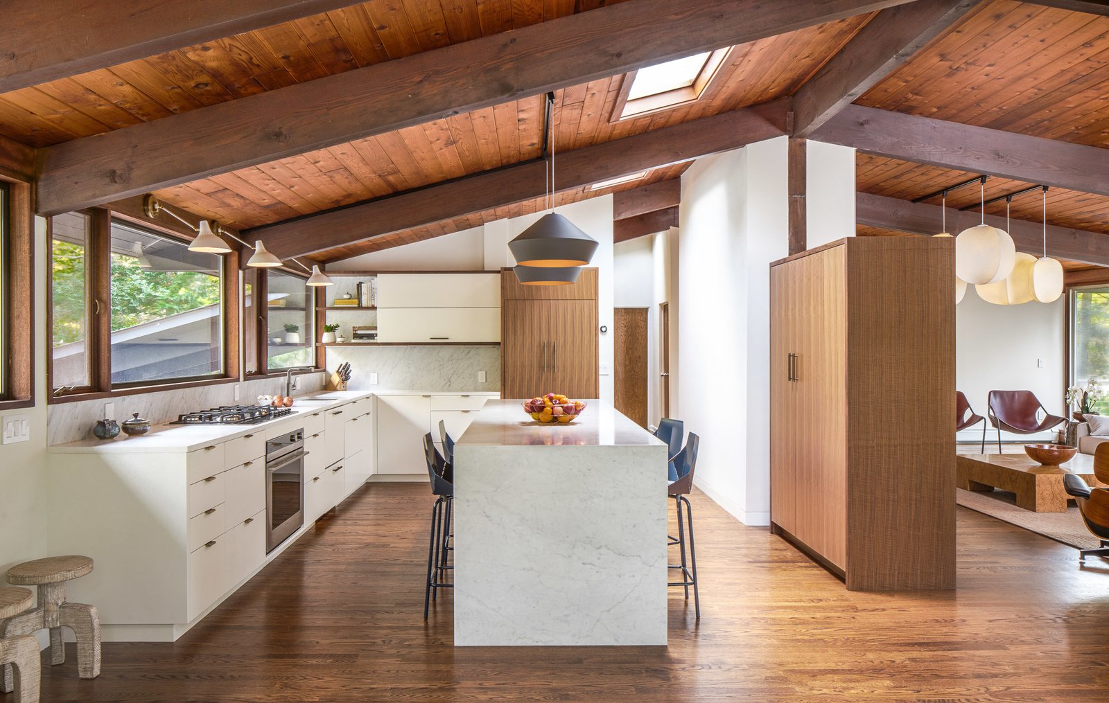 Westport Connecticut Midcentury Home kitchen