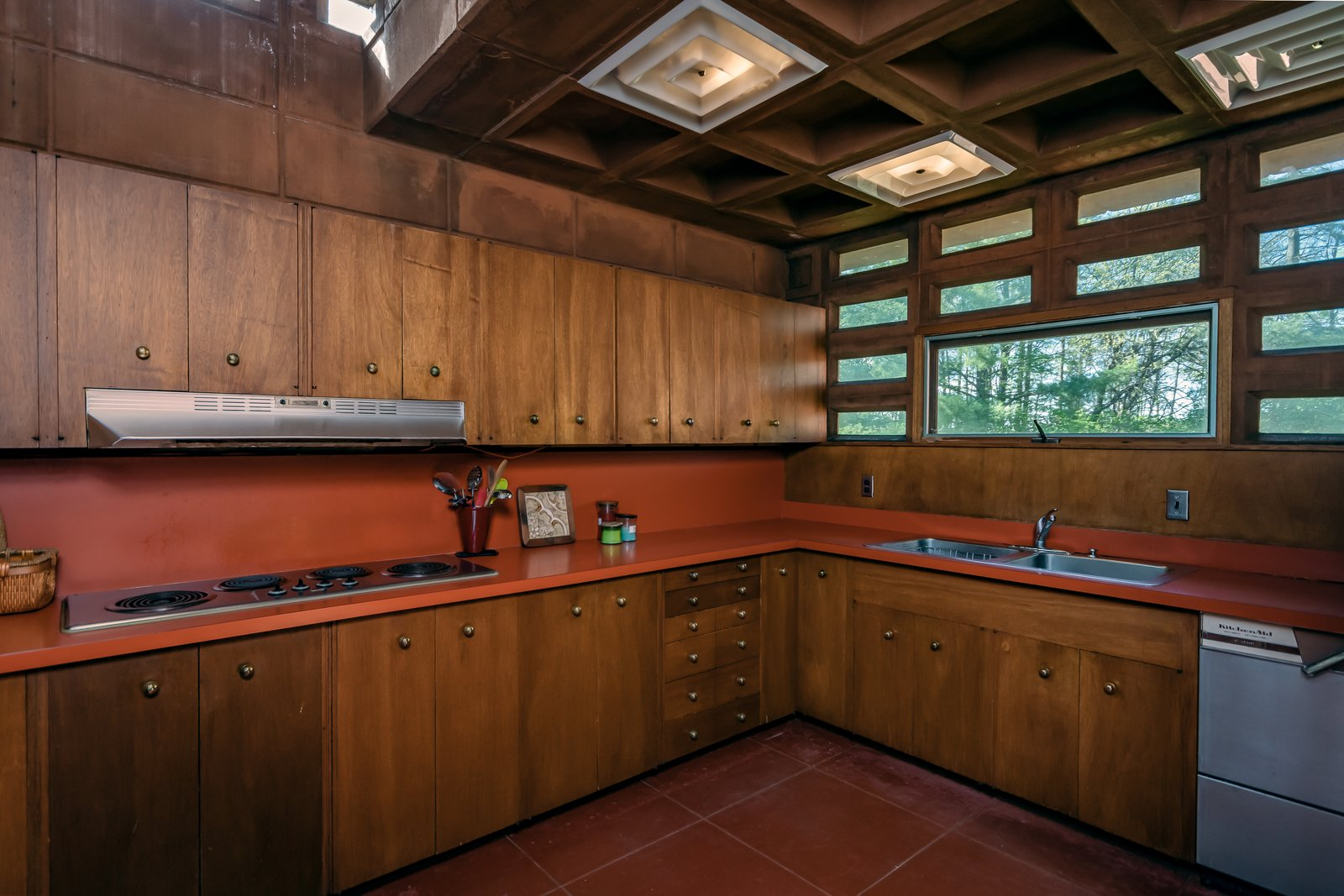 Photo 17 Of 21 In Frank Lloyd Wright S Pappas House In St