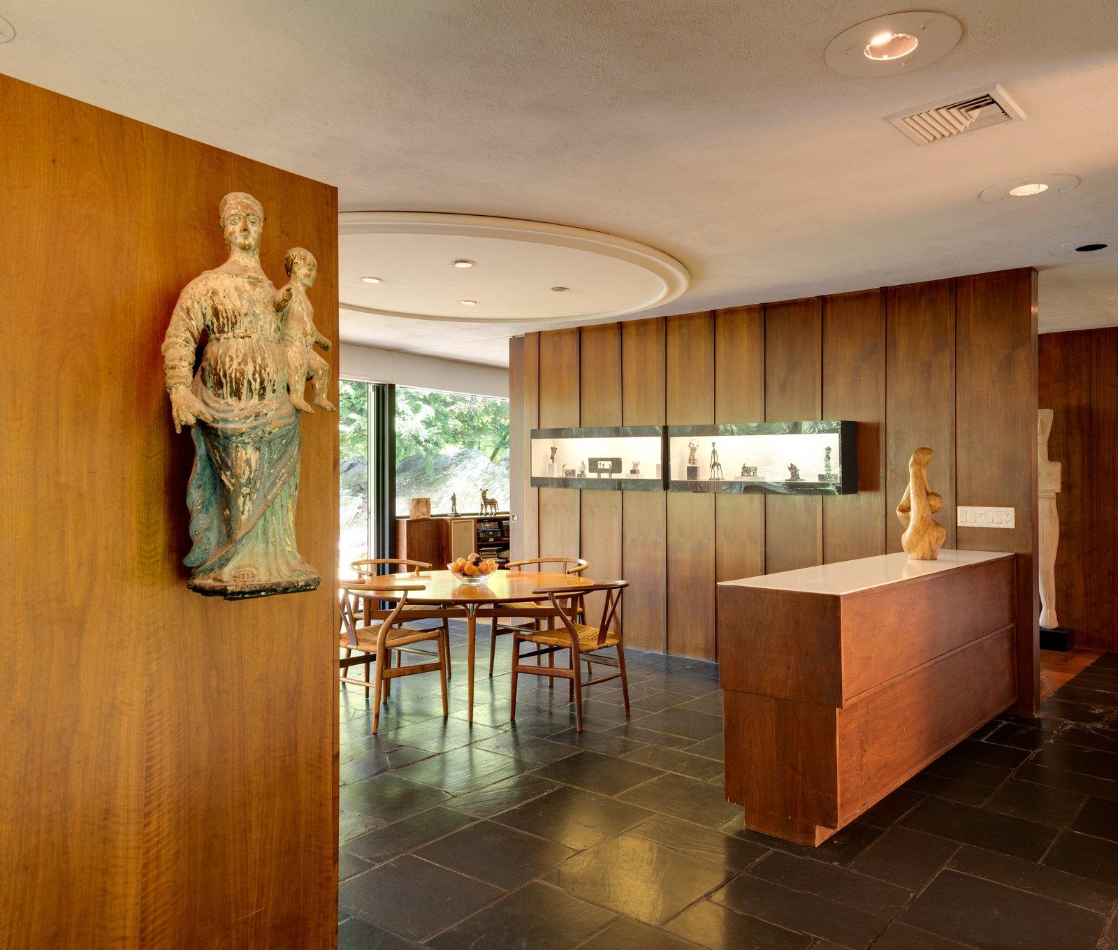 The Corwin House wood dining room