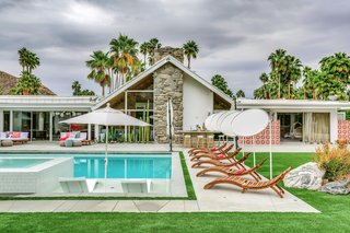 The residence is a picture-perfect Palm Springs dream home.
