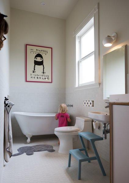 The children's bathroom.