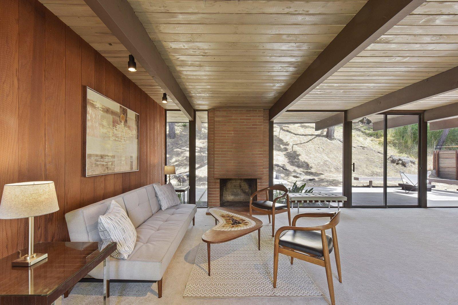8160 Phaeton Drive Eichler living room
