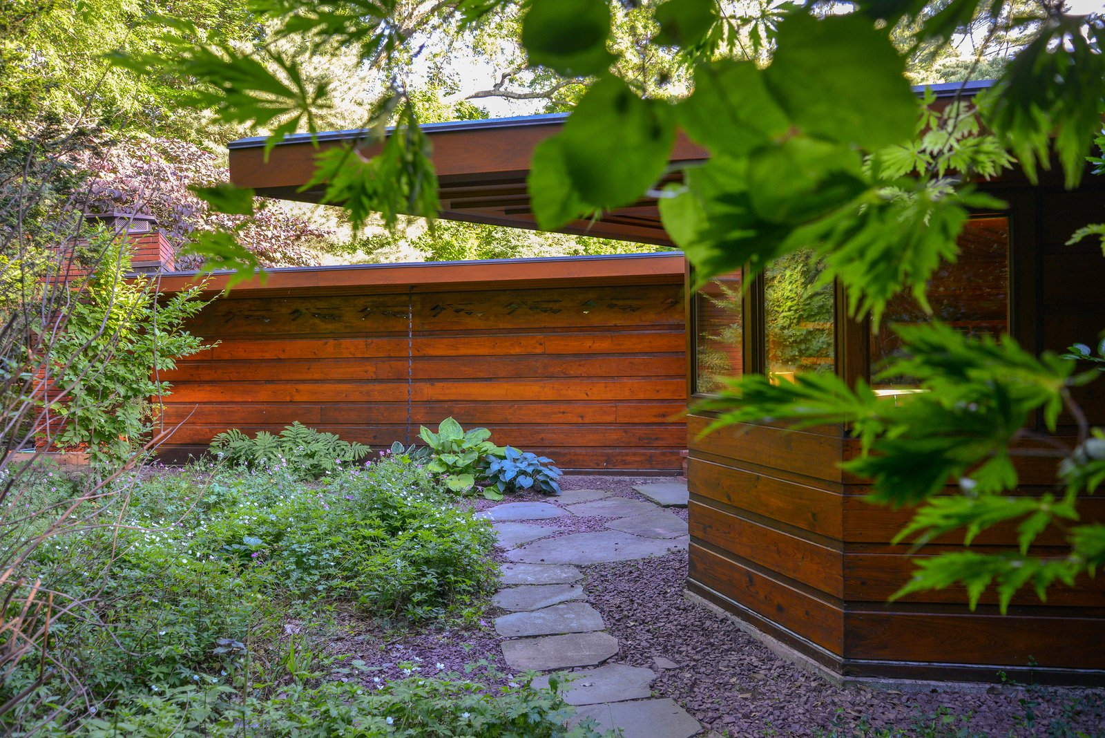 A Handsome, Hexagonal Home by Frank Lloyd Wright Wants $1.2M