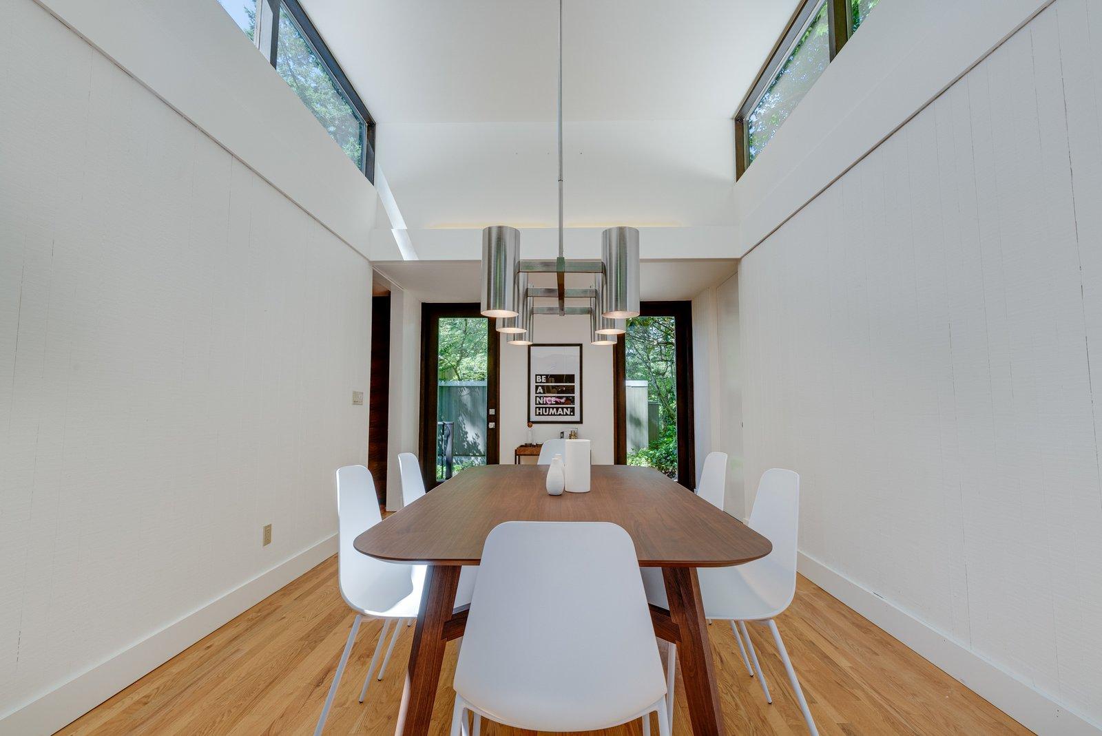 William Fletcher Portland Midcentury Home dining room