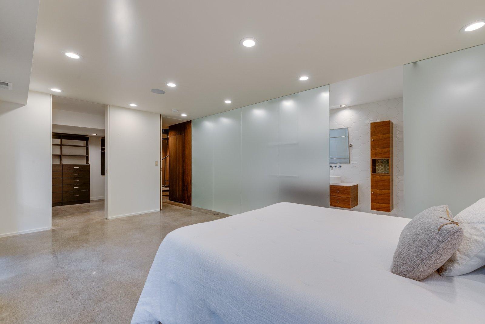 William Fletcher Portland Midcentury Home bedroom