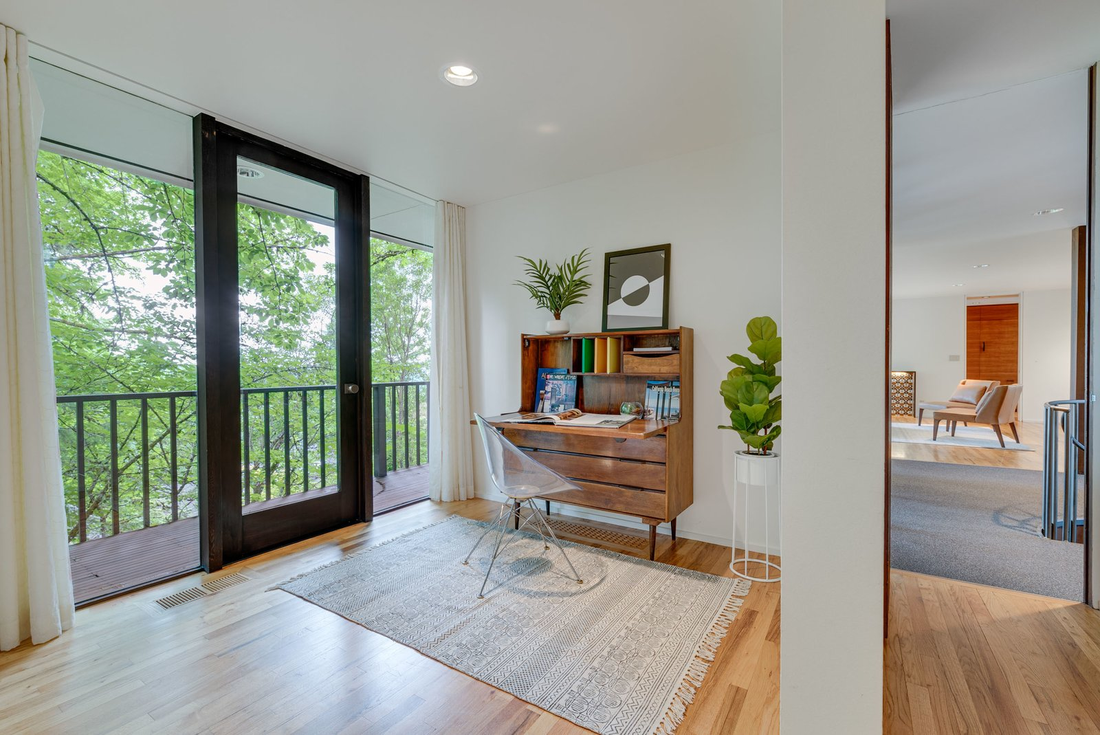 William Fletcher Portland Midcentury Home office