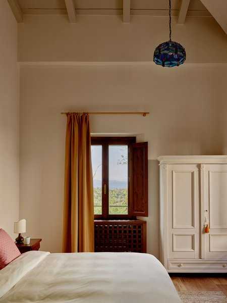 The Superior Fattoria rooms also aim to blend classic and contemporary design.