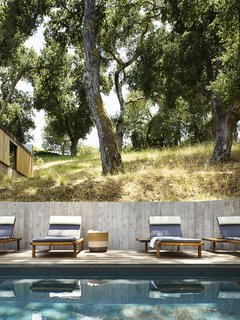 The Vis a Vis loungers are from Janus et Cie.