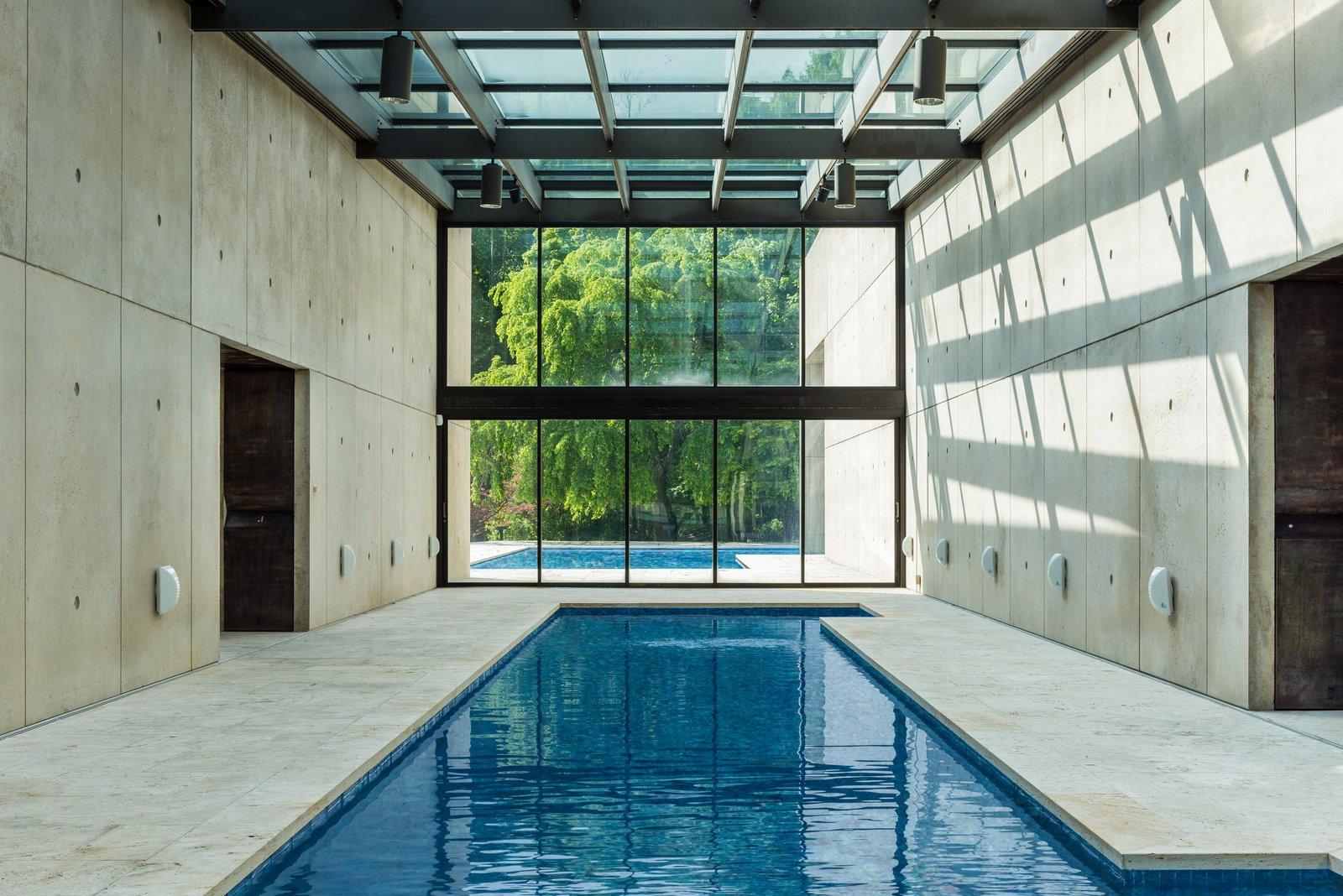 Rafael Viñoly Connecticut residence pool