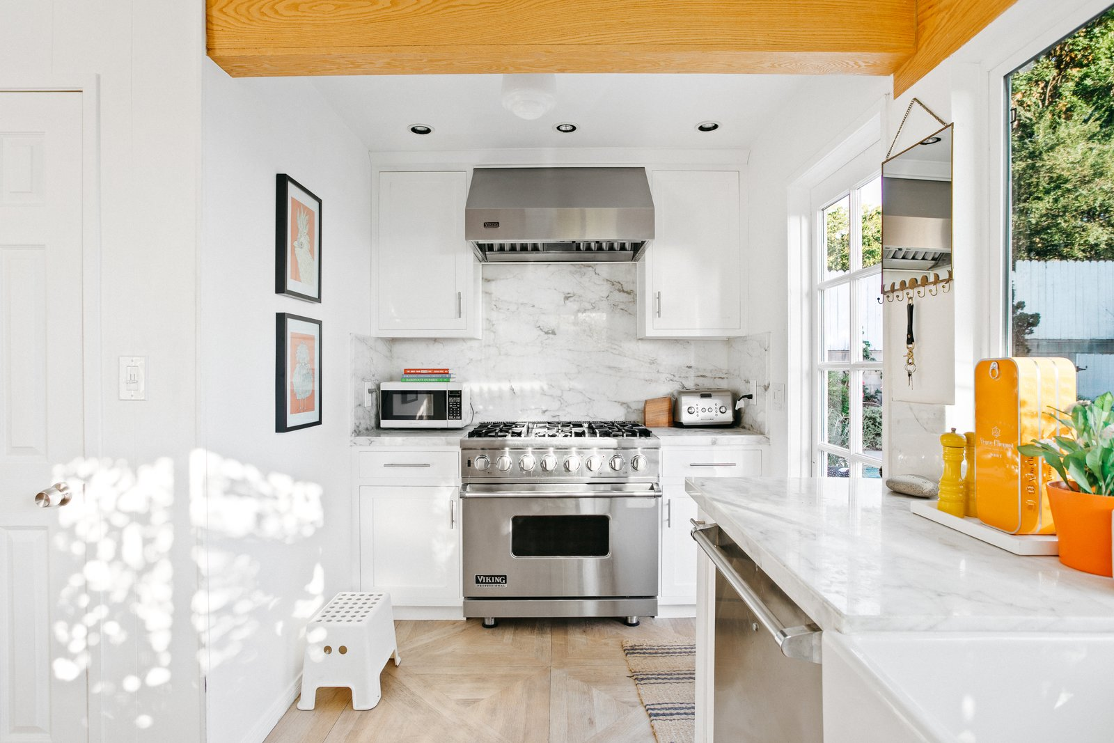 L.A. compound real estate kitchen