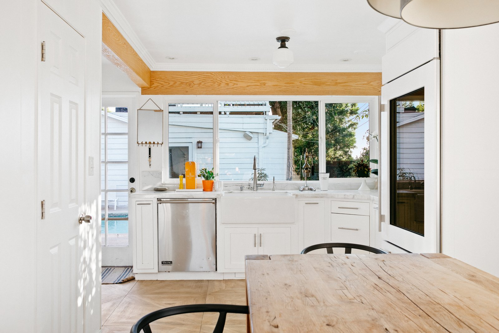 L.A. compound real estate kitchen