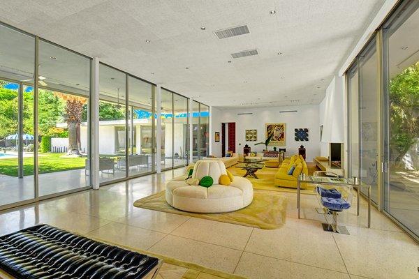 Best 60 Modern Living Room Terrazzo Floors Design Photos