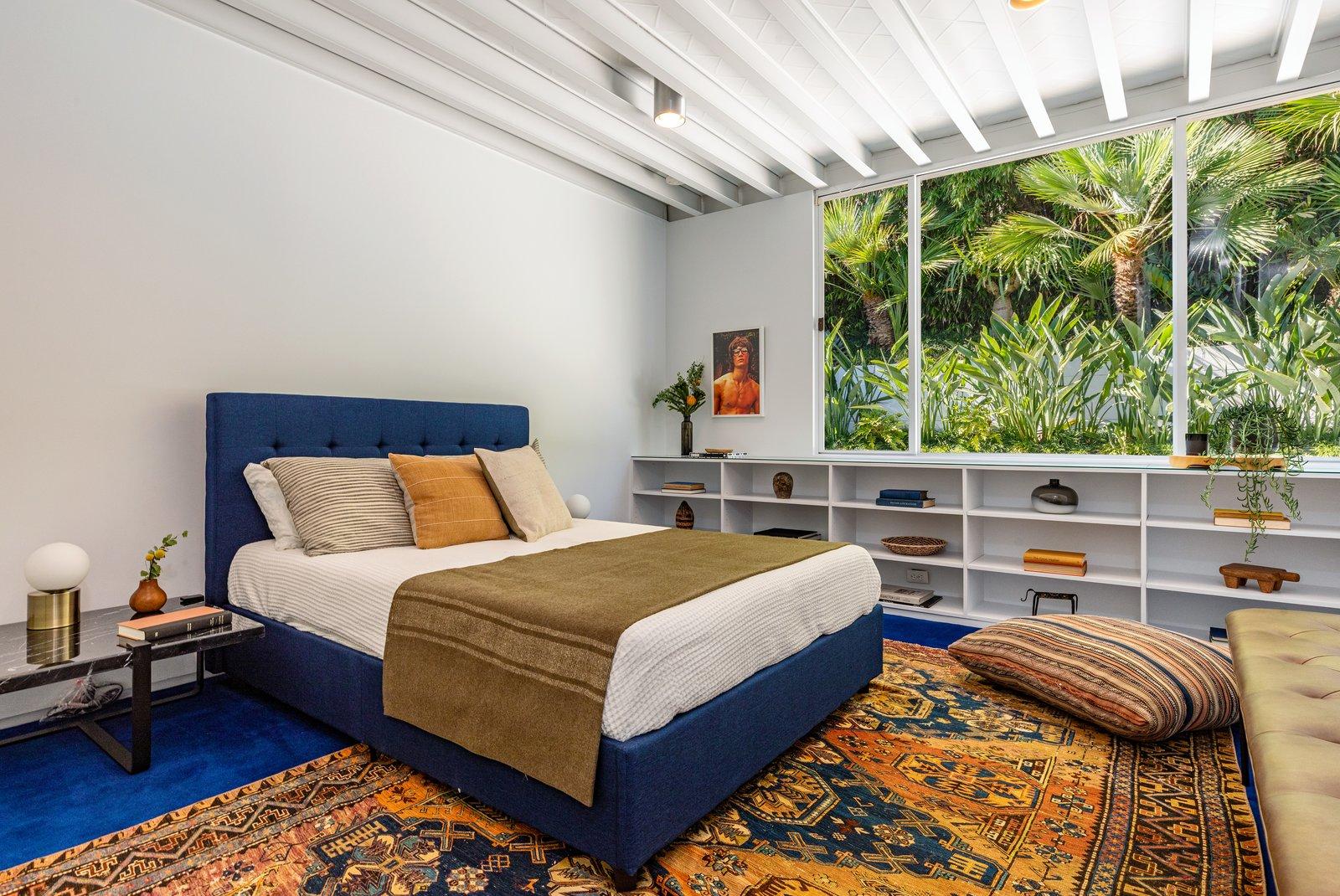 Steel House bedroom