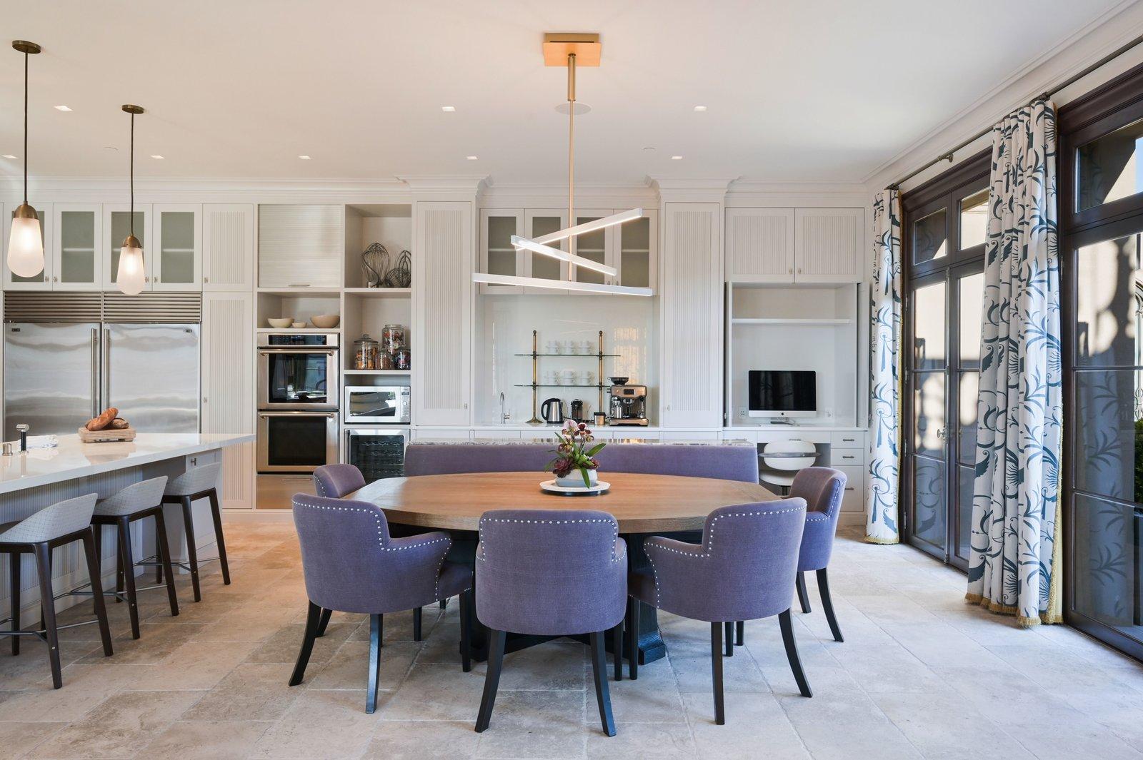 Michael and Xochi Birch 2799 Broadway Pacific Heights mansion dine-in kitchen