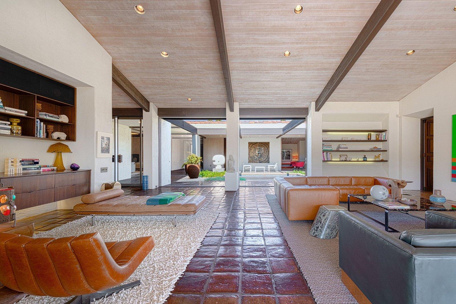 Rubinstein House William Cody Rancho Mirage  Living Room