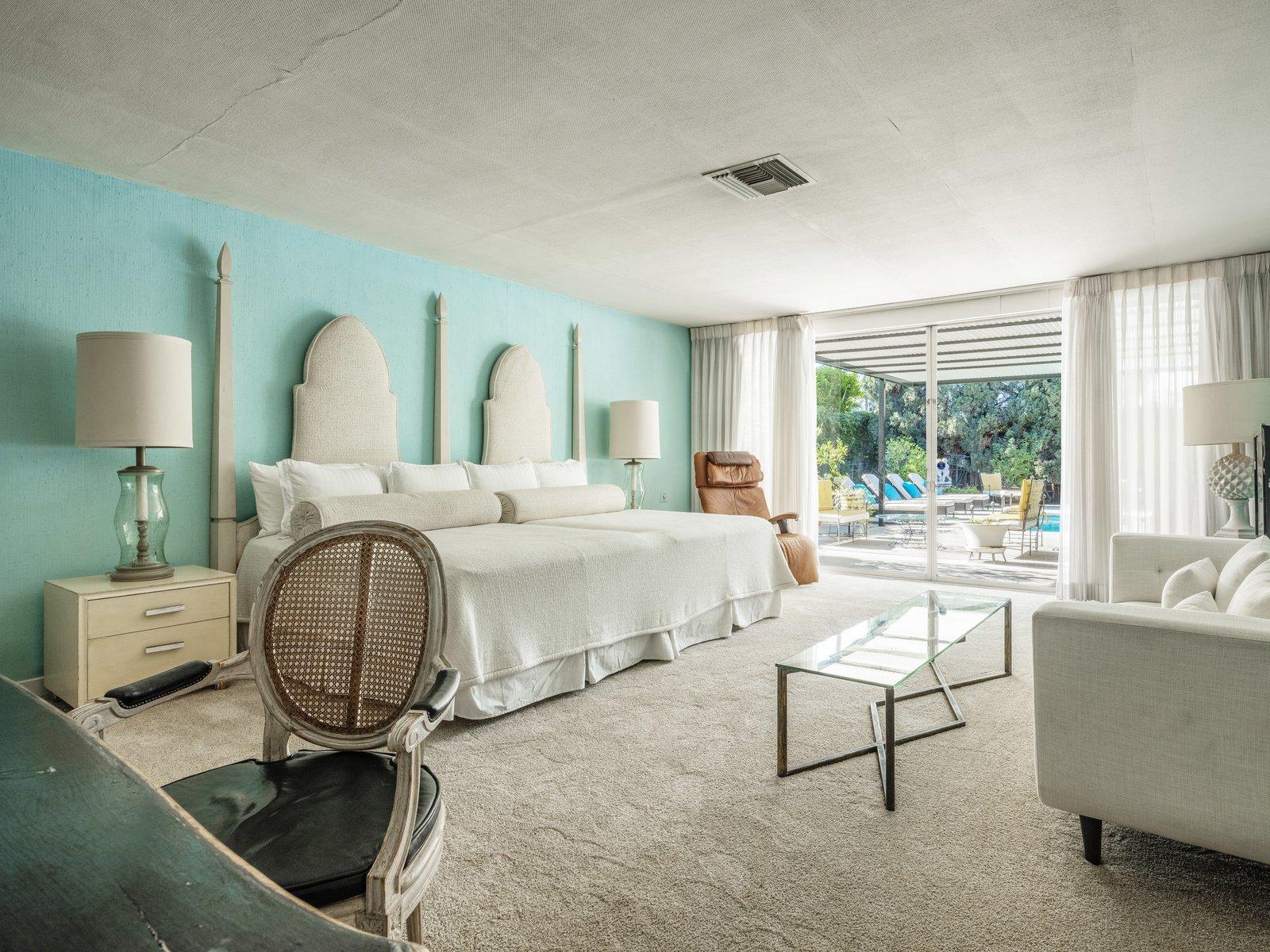 Arthur Elrod Palm Springs Escape House bedroom