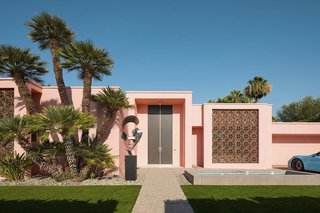 A Pastel Pink Midcentury in Palm Springs Hits the Market at $2.9M