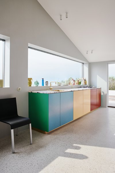 """It is also possible to add a separate kitchen island in a different color than the rest of the kitchen,"" suggests Christensen."