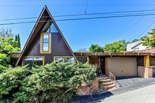 A Groovy 1965 A-Frame Compound with Killer L.A. Views Lists for $1.375M
