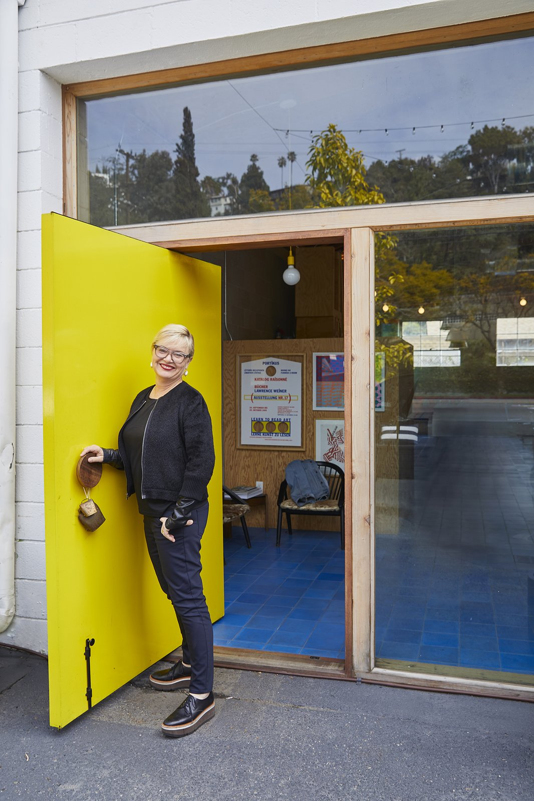 Barbara Bestor at the entrance of her Silver Lake office.  Photo 7 of 16 in Architects and Designers Weigh In on the Future of Work