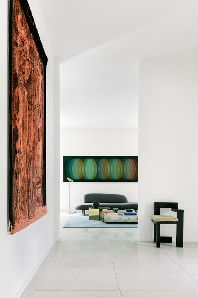 The interiors were a collaboration between Unicus Developments and interior designer Garrett Hunter.