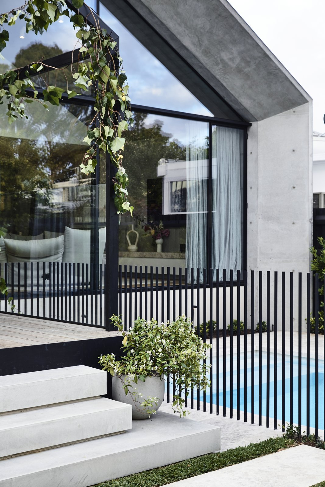Scandizzo House, Kennon+ outdoor space