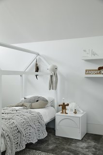 """The bedrooms for the children were moved upstairs """"We've designed everything according to how we think the kids are going to enjoy it the most,"""" shares Jane.  <span style=""""color: rgb(204, 204, 204); font-size: 13px;"""">Photo by Derek Swalwell</span>"""
