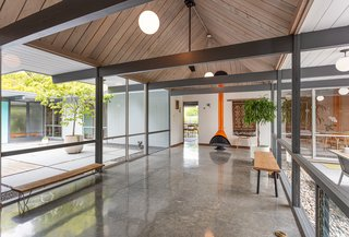 A Sunny Super Eichler With a Backyard Pool Lists for $1.7M