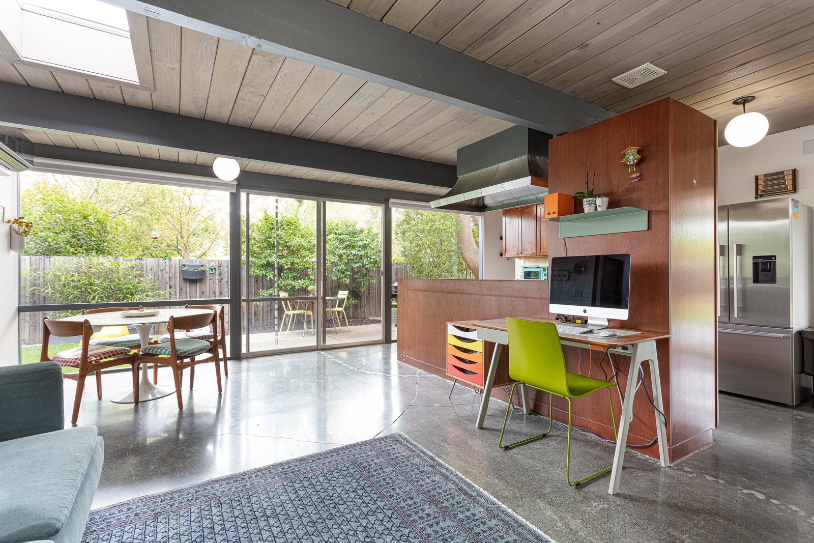 Walnut Creek Super Eichler kitchen