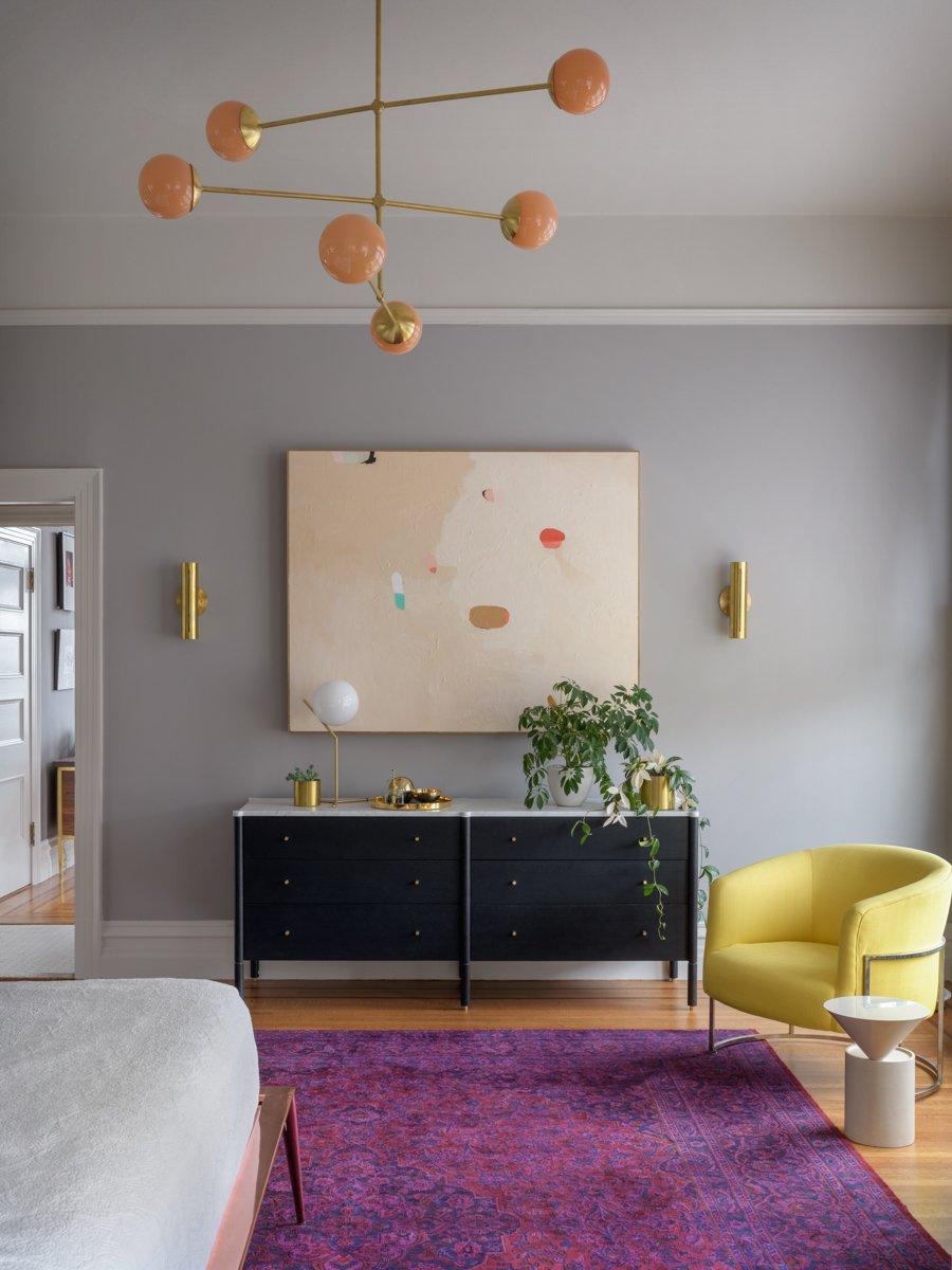 Jessica Helgerson Interior Design Southwest Hills Victorian Master Bedroom Milo Baughman
