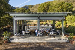 Architect Barton Myers Lists His Lauded, Glass-and-Steel Compound in Santa Barbara for $8.2M