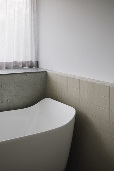 The Amelie bathtub from Rogerseller is meant to be an elegant, contemporary take on a claw-foot tub.