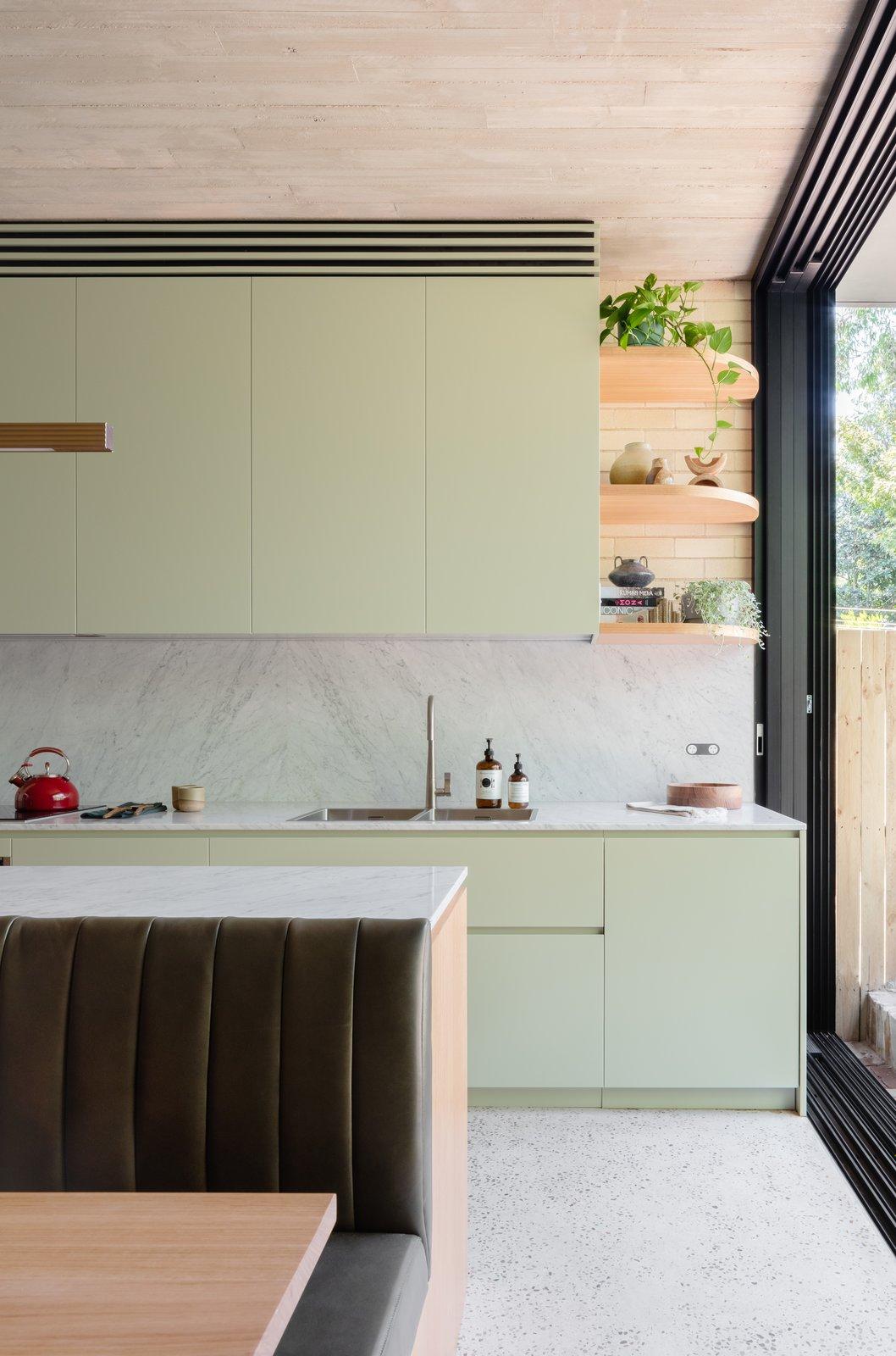 Carter Williamson Concrete Blonde kitchen