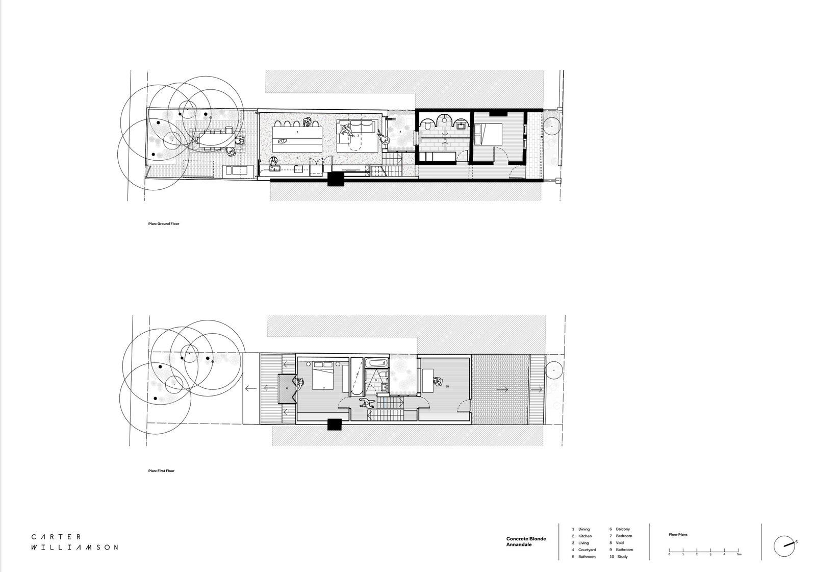 Concrete Blonde floor plan