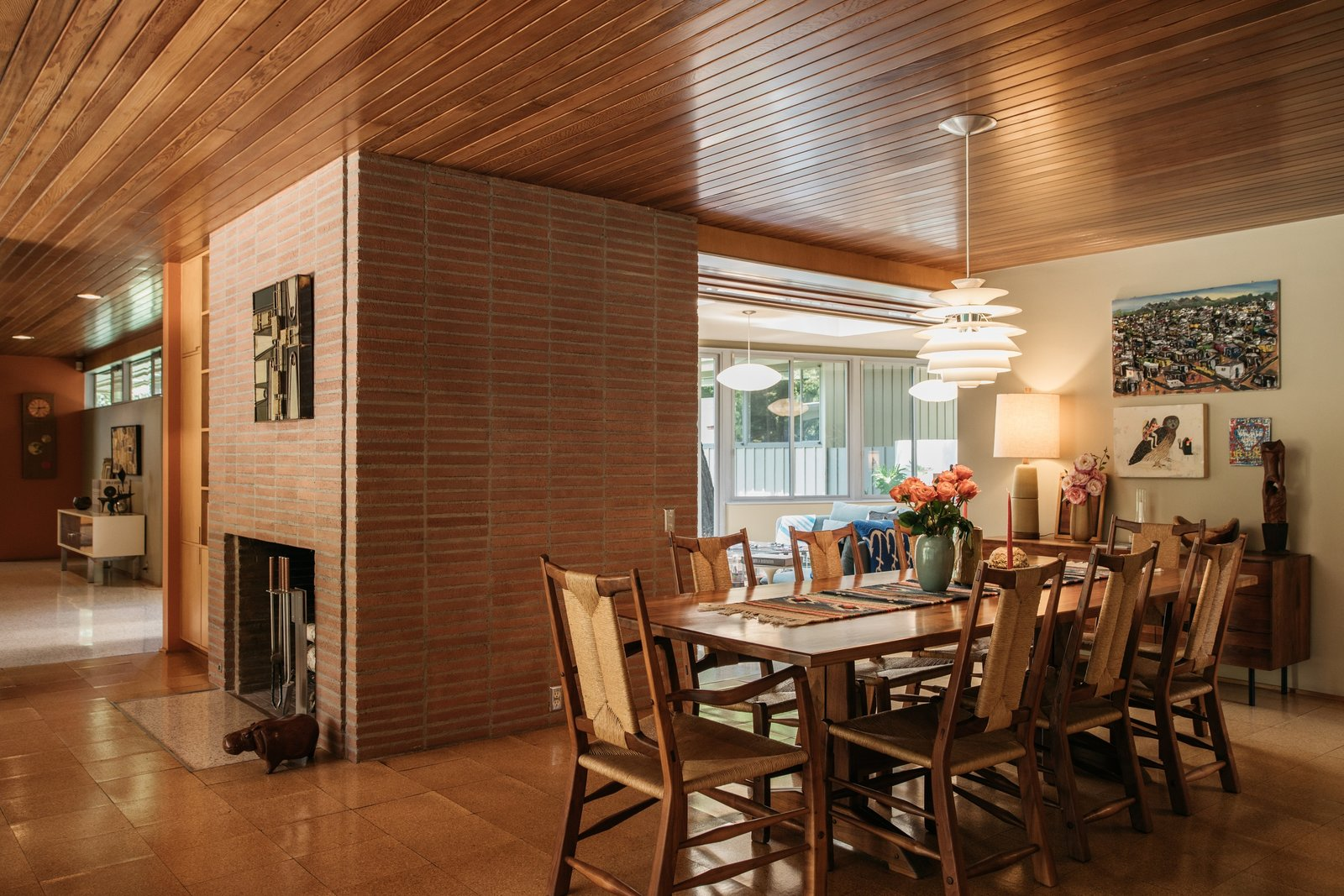 Richard Neutra Wilkins House Case Study House #13  dining room
