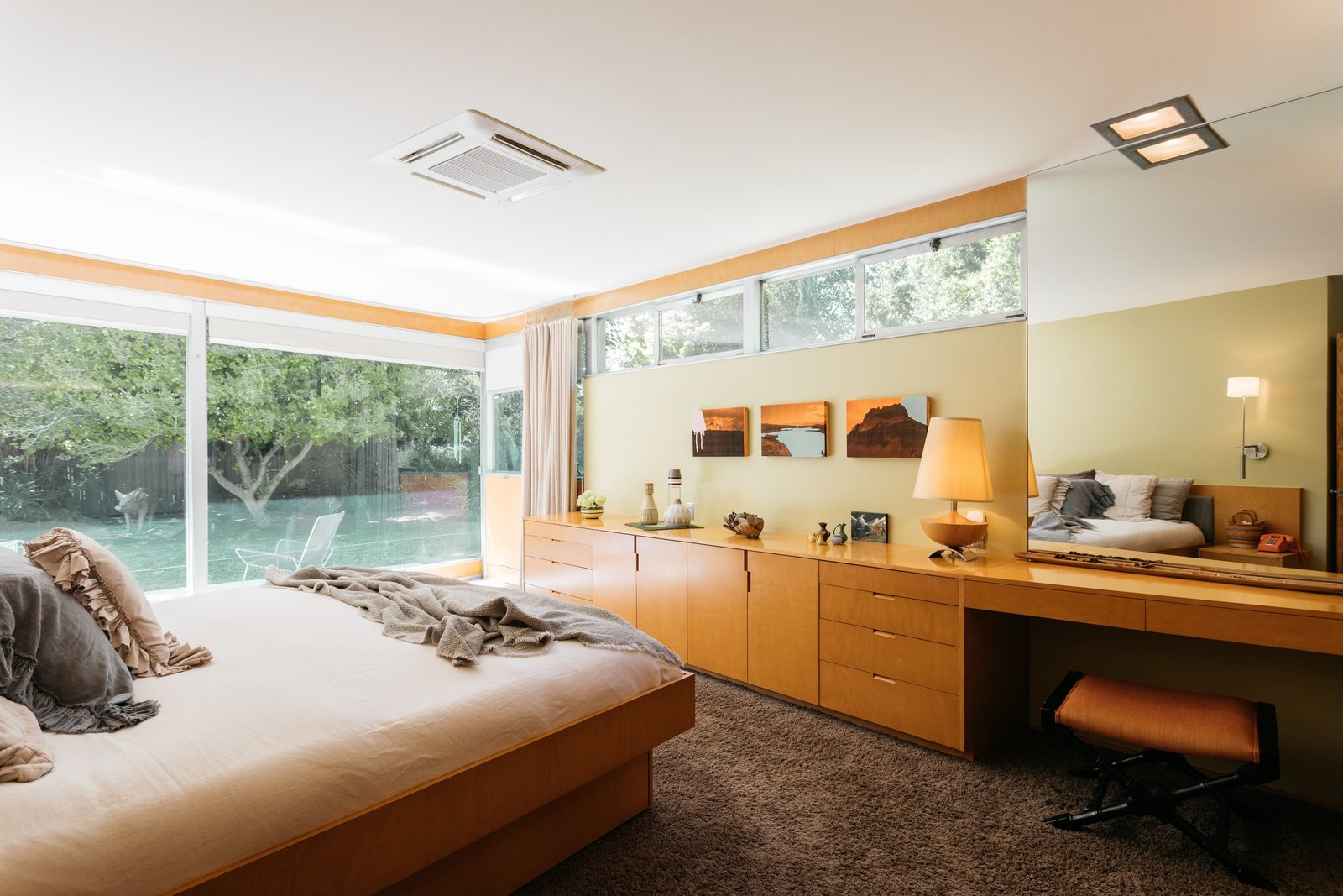 Richard Neutra Wilkins House Case Study House #13  master bedroom