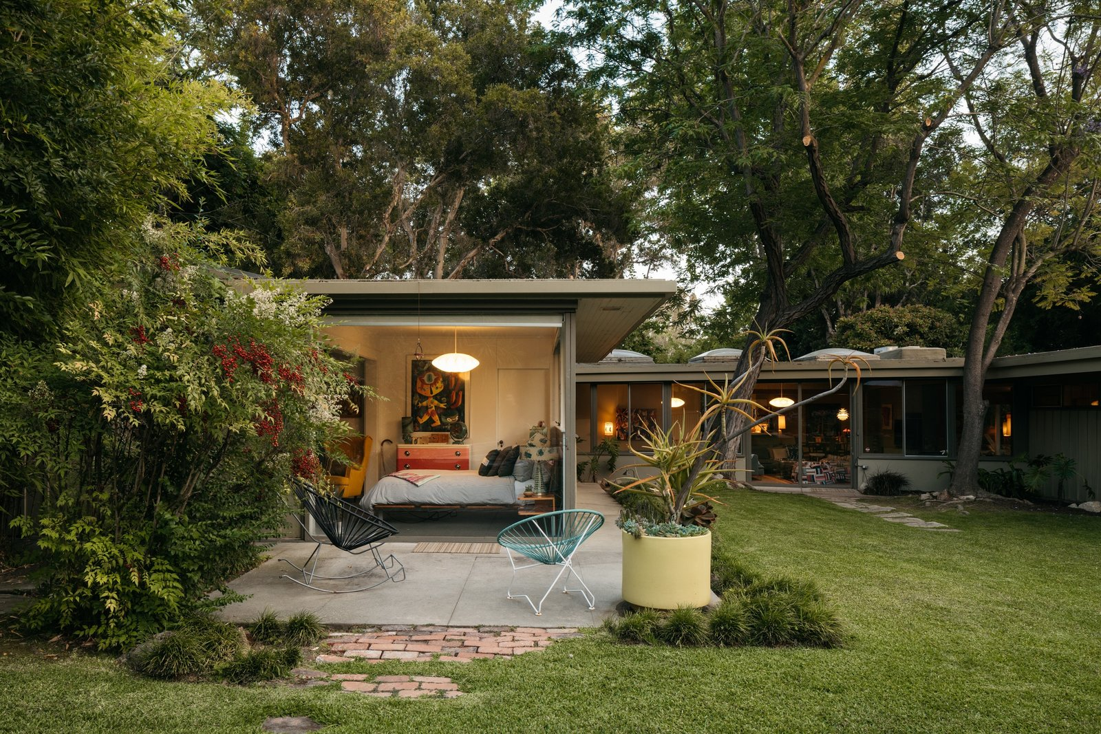 Richard Neutra Wilkins House Case Study House #13  guest house